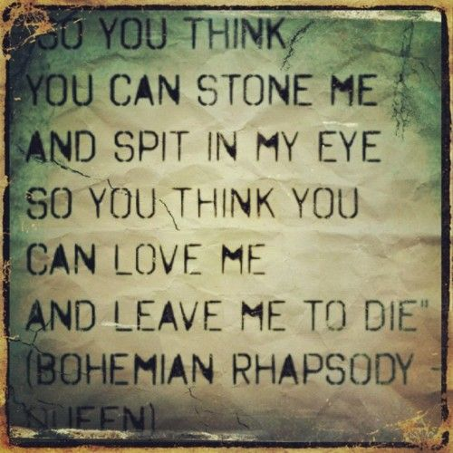 queen bohemian rhapsody lyrics - photo #22