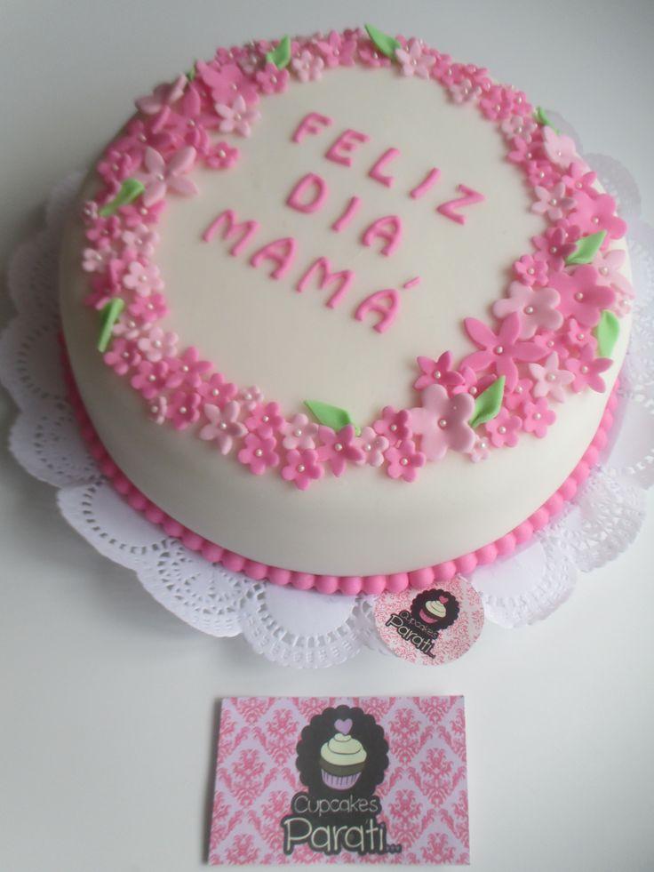 1000 images about tortas on pinterest for Decoracion para el dia de la madre