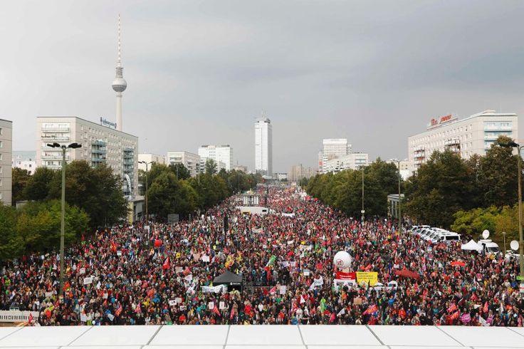 TTIP und Ceta: Zehntausende demonstrieren gegen Freihandel - http://ift.tt/2cgqpJ4