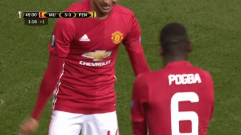 soccer manchester united mufc pogba man united paul pogba europa league lingard jesse lingard man u hit the quan via diggita.it @EuropaLeague