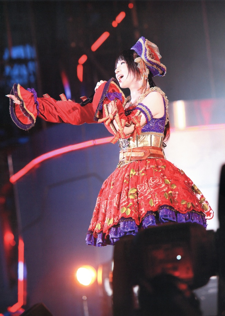 Mizuki Nana:  In LIVE UNION! The outfit is great.