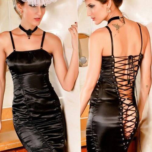 Клубные платья костюмы с глубоким вырезом спины