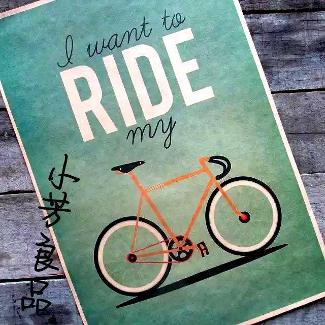 Pas cher l'ordre mélangé et combiner style rétro vintage expédition affiche papier bons cadeaux, résumé la bicyclette 42*30cm, Acheter  Autocollants muraux de qualité directement des fournisseurs de Chine: juste pour vousprofitez de votre vie. partager votre amour avec votre amoureux