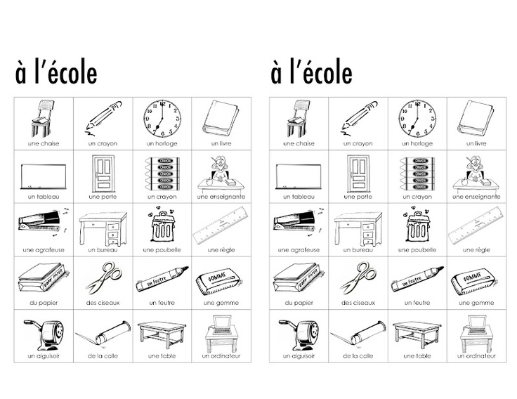 dictionnaire visuel pour vocabulaire de la salle de classe rentr 233 e gr1 septembre