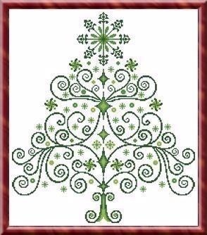 Christmas Tree 2 - Cross Stitch Pattern.