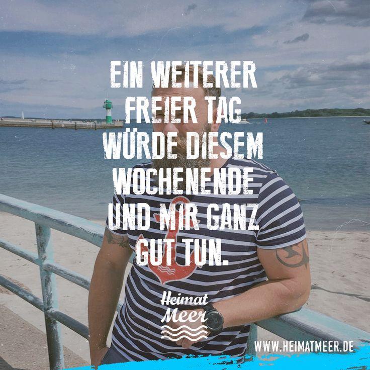 Tage am Meer hat man nie genug! Anker Shirt >>