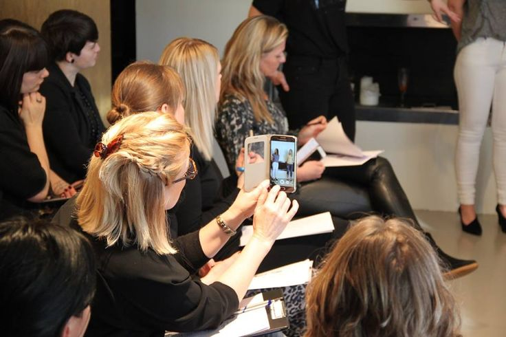 Consultants at Kickoff day SS17 Black Swan Fashion