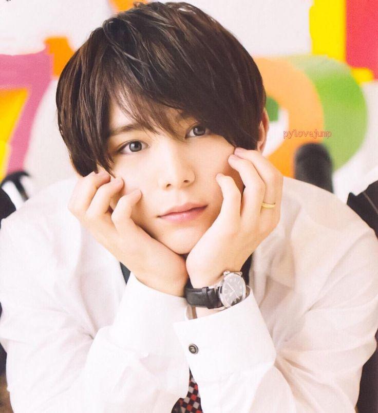 Why are you so cute?!! #yamadaryosuke #heysayjump