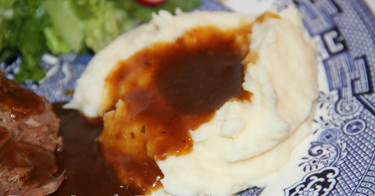 How to make a less decadent, homemade mashed potato recipe, intended for basic, everyday use, any day.