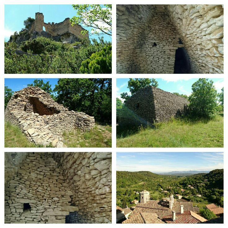 Bories.de La Roque-sur-Pernes