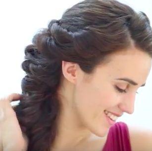 Greek Goddess Hairstyles Tutorials Side View