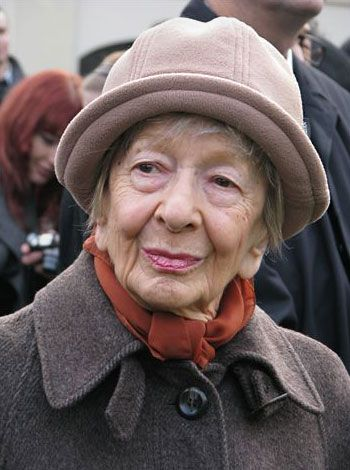 Wislawa Szymborska. Photo taken 23 October 2009.   Mariusz Kubik