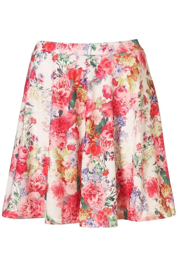floral: Floral Skirts, Floral Prints, Summer Style, Circles Cut Skirts, Fun Circles Cut, Prints Skater, Skater Skirts, Topshop Floral, Circlecut Skirts