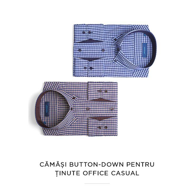 De nelipsit, pentru ținutele office - cămășile button-down: http://www.cozacone.ro/?s=button+down&post_type=prod