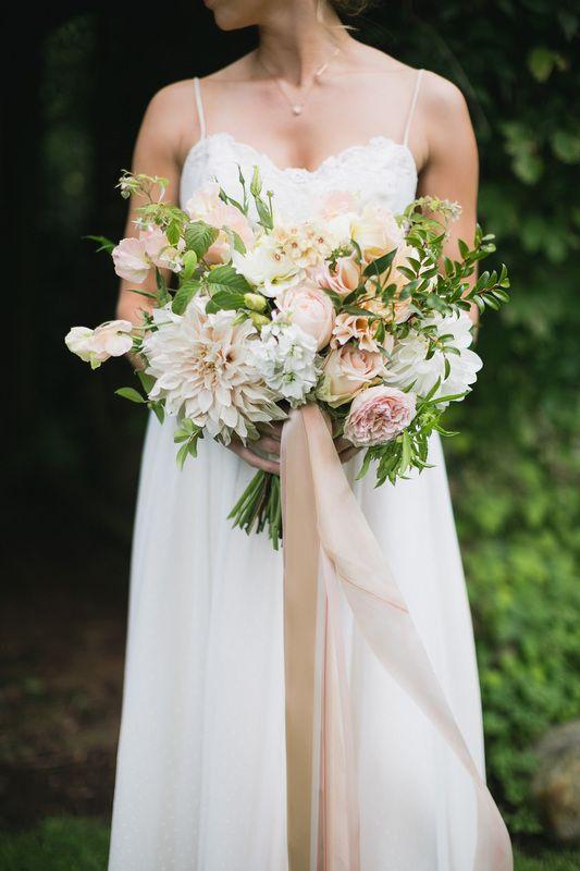 Mid-summer stunner! Bridal bouquet by Flying Bear Farm + Design - Photography by Marissa Maharaj