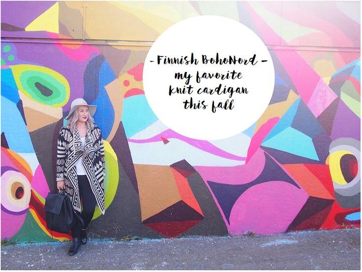 Helsinki Dragonfly boho chic , bohonord , cardigan , finnish , graffiti , graffitisthlm , Helsinki , katutaide , knit , muraali , mural , neule , neuletakki , nordic , seinämaalaus , street art , style , tyyli , villa , wool