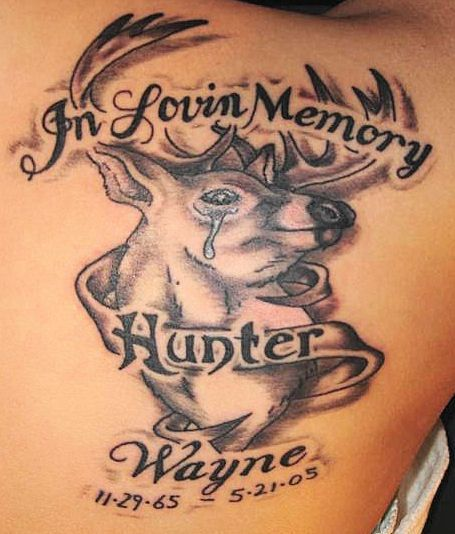 Deer Tattoo Designs | InkDoneRight   Deer Tattoo Designs Ahh, the great outdoors. Whether or not you're down with sleeping in a tent or hanging around a campfire and roasting your food over an open flame in a pit in the ground, it's practically undeniable that there's something...