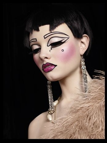 think this is the illamasqua advert. theatre of the nameless. amazing.
