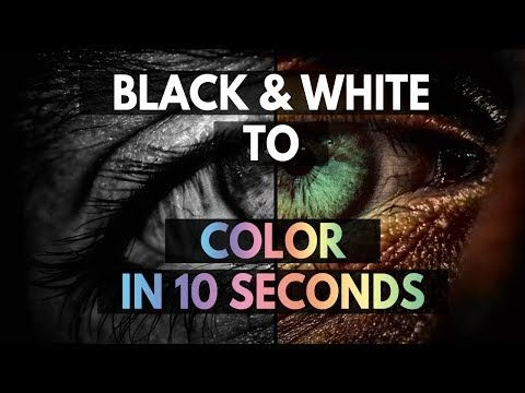 Here's my latest video! COLORIZE your BLACK and WHITE photos in 10 seconds without using Photoshop | How to | TECHNOLOGY FAQ https://youtube.com/watch?v=Y5_-m2I8hyU