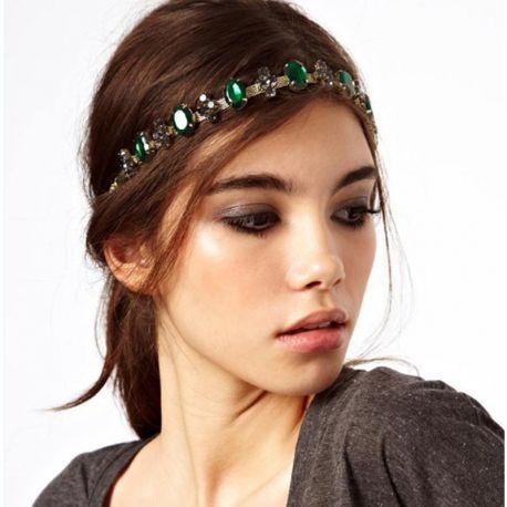 Bohemian Style High Quality Gem Tassel Elastic Hair Head