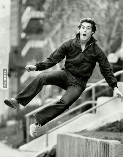 Jim Carrey at age 19