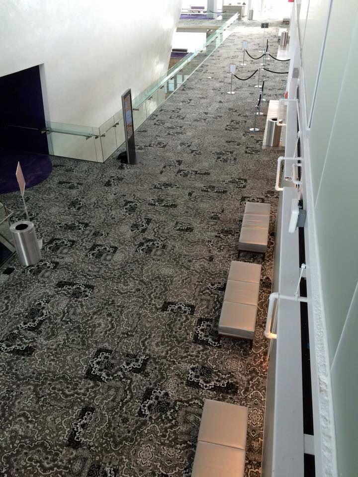Interface Hospitality - carpet tile corridor - Hip Over History