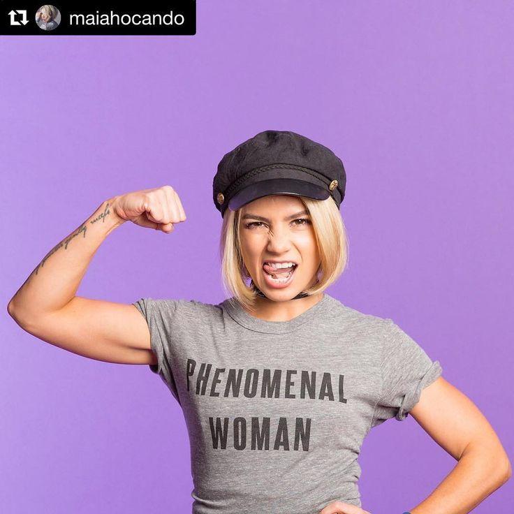 #Repost @maiahocando  Tengo tiempo hablando de esto: una mujer latina en Estados Unidos tiene que trabajar 10 meses más sólo para ganar la misma cantidad de dinero que un hombre blanco ganó en promedio el año pasado. Saca cuentas. Las latinas en este país ganamos sólo 54 centavos por cada dólar que gana un hombre blanco. Eso no es para nada justo y es por eso que estoy participando en esta campaña porque todas somos mujeres fenomenales no 54% sino 100% fenomenales. Hoy es #LatinaEqualPay Day…