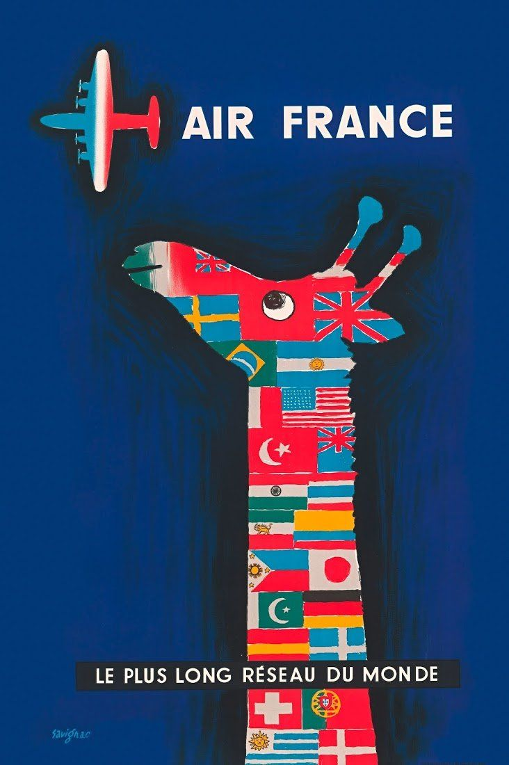 """""""Airline Visual Identity, 1945-1975"""" showcases an extraordinary period of creativity in advertising and graphic design."""