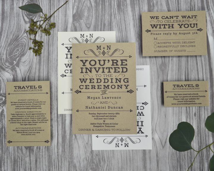 High Quality Vintage Winery Wedding Invitations For A Vineyard Or Rustic Wedding. Wine  Country Occasions, Www