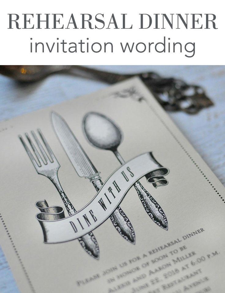 Best 25+ Rehearsal dinner invitation wording ideas on Pinterest - how to make invitations on word
