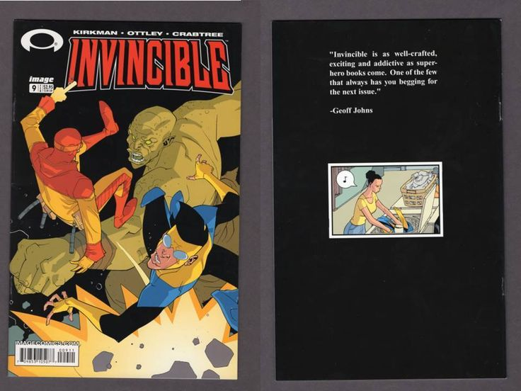Cult classic Invincible #9 comic book by The Walking Dead creator Robert Kirkman<br/><br/>Very recently it was announced that Seth Rogen. By Robert Kirkman & Cory Walker. by The Walking Dead creator, Robert Kirkman. INVINCIBLE #9. and Evan Goldberg are directing an Invincible movie. to take place in the Invincible Universe! | eBay!