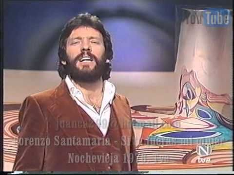 Lorenzo Santamaria - Si tu fueras mi mujer (Videoclip 1976) - YouTube