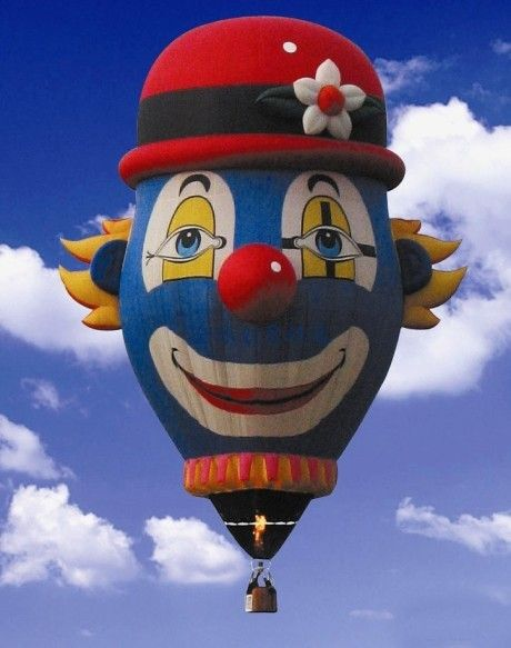The most creative color hot air balloon