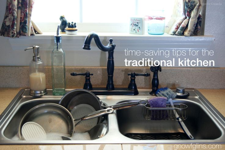 Time-Saving Tips for the Traditional Kitchen | The true challenge of traditional food prep is not so much skill as time. It takes so much time to plan, prepare, and serve traditional foods. In an effort to improve in this area, here are goals I made for myself. I'd love to hear some of yours as well! | GNOWFGLINS.com