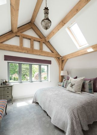 Border Oak Single Storey Master Bedroom