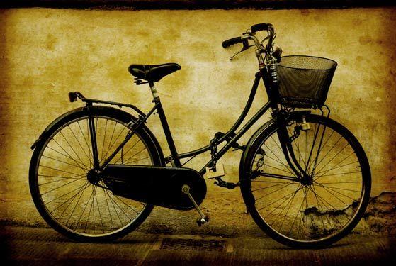 Παλιό ρετρό ποδήλατο | Vintage