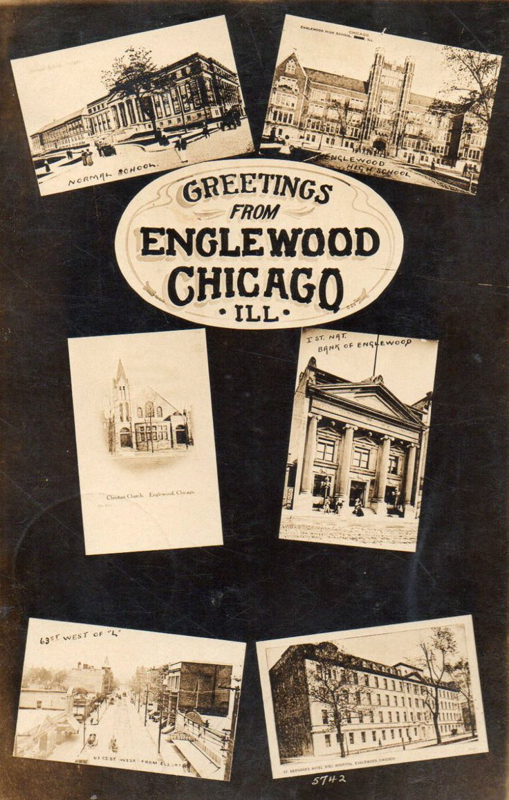 CALUMET 412 — Greetings from Englewood, 1908, Chicago