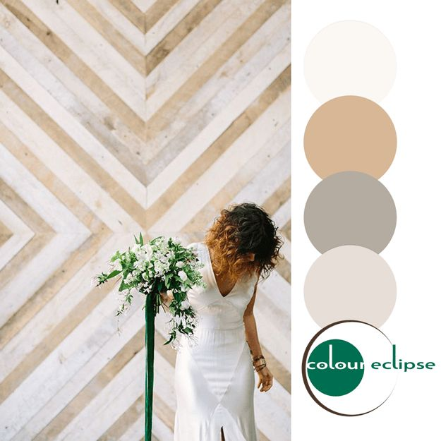 tan and white color palette with emerald green accent, pantone lush meadow, copper brown, warm brown, creamy white, gray, taupe