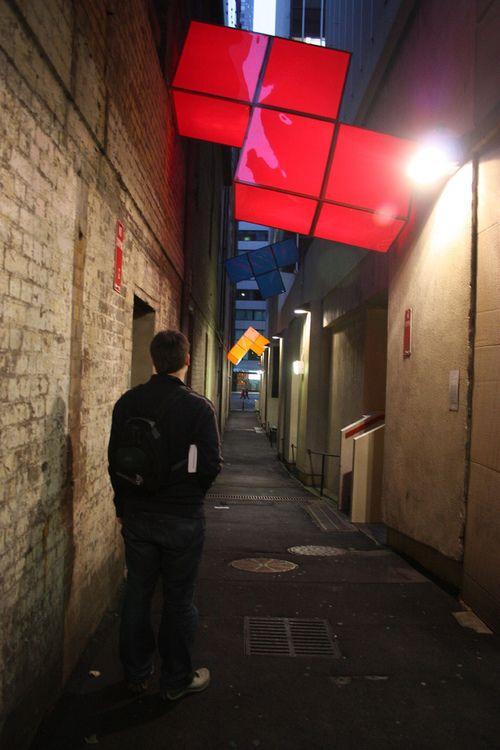 Tetris Street Lamps