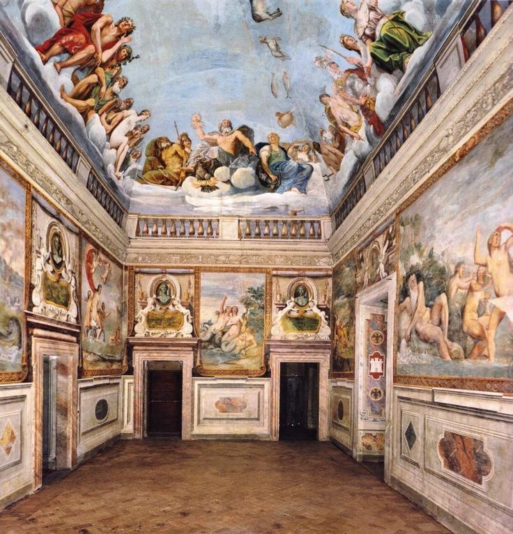 Albani Francesco - Decorazione della galleria, 1609-1610  Palazzo Odescalchi Giustiniani, Bassano Romano (Viterbo).