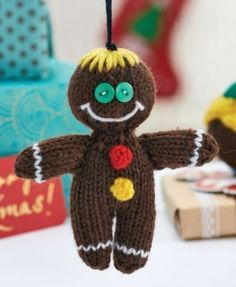 Quick Knit Decorations pattern by Amanda Berry - free from Let's Knit