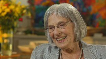 Betty Churcher - talking with Lee Sales