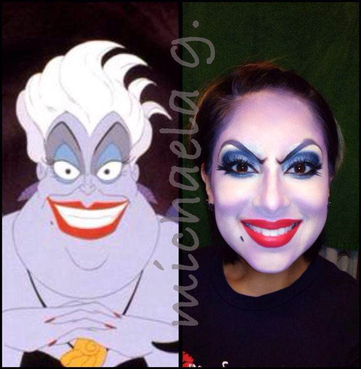 Make-Up - Halloween - Little Mermaid - Ursula - Michaela G. - Angelica L Salon - Make-Up Artist