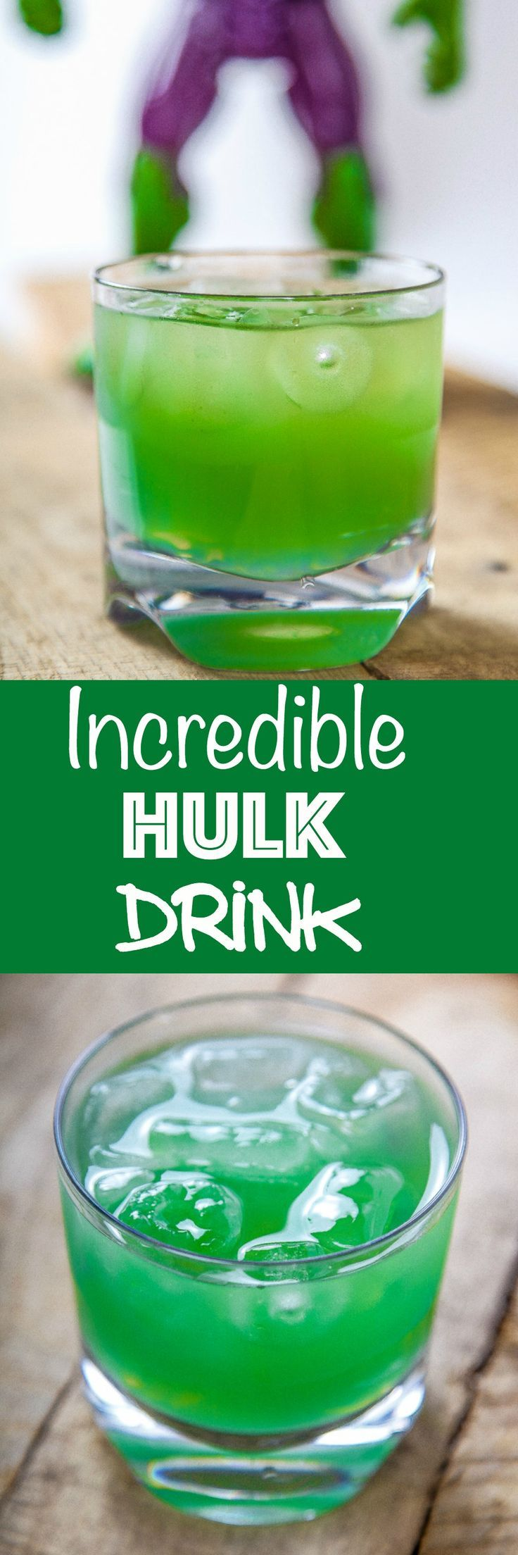 Incredible Hulk Drink in 2020   Incredible hulk drink ...