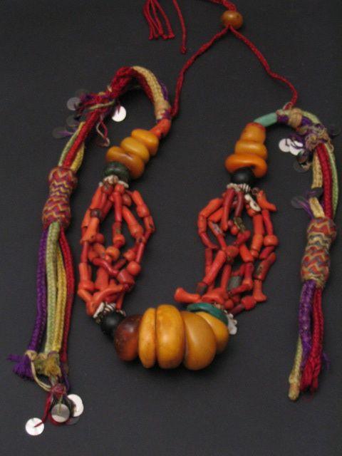 berber necklace. morocco.