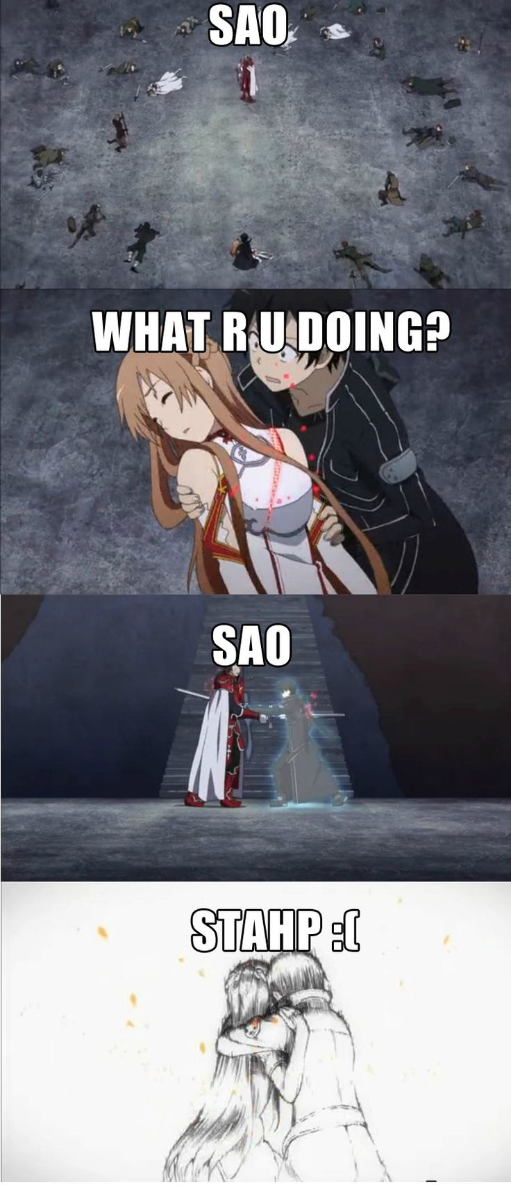 sword art online - Oh I remember this moment! Yes! Very Well. This was the moment where I was just slowly dying in my chair...