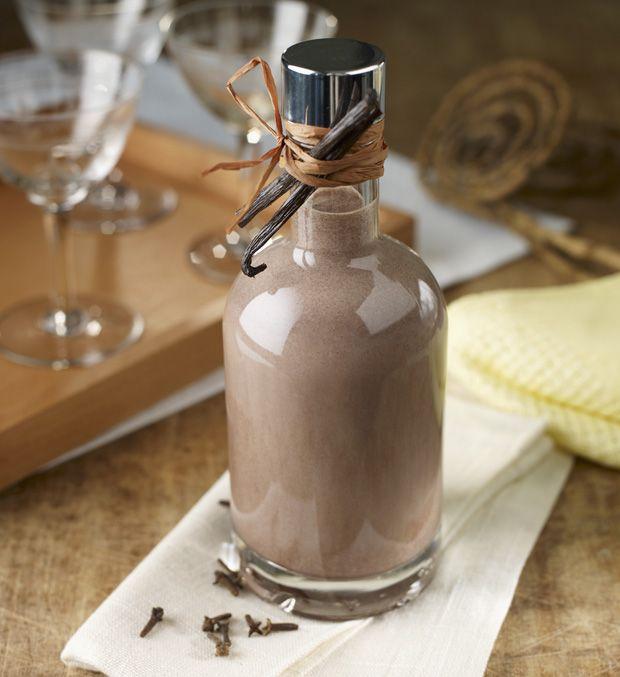 Schokoladen-Gewürz-Likör