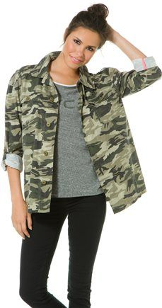 @SWELL Style Style style #camojacket BILLABONG SPECIAL FORCEZZ CAMO JACKET | http://www.swell.com/Summer-Road-Trip/BILLABONG-SPECIAL-FORCEZZ-CAMO-JACKET?cs=CA