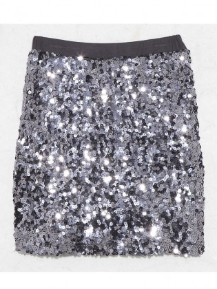 Dolce Vita Sequined Skirt by Alibi at AlibiOnline. As seen in Who.