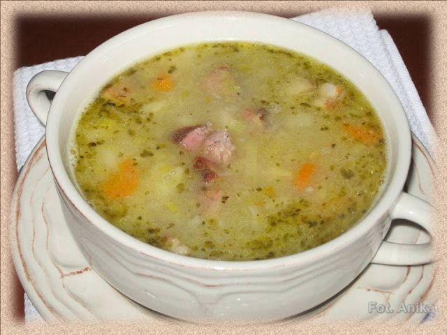Domowa kuchnia Aniki: Zupa z pora ( przepis 2 )